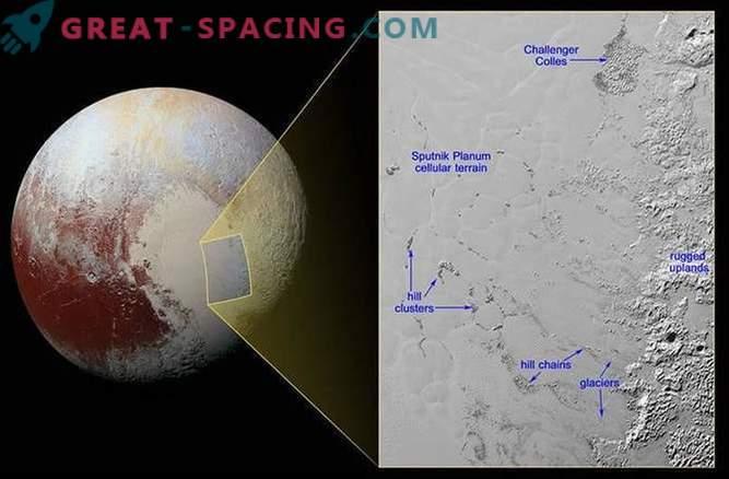 Amazing Floating Iceland Hills of Pluto