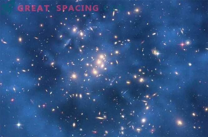 A particle of dark matter can be the size of a human cell