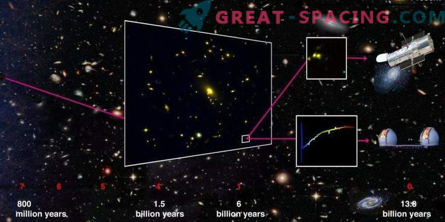 """A """"typical"""" galaxy helps to study the era of reionization"""