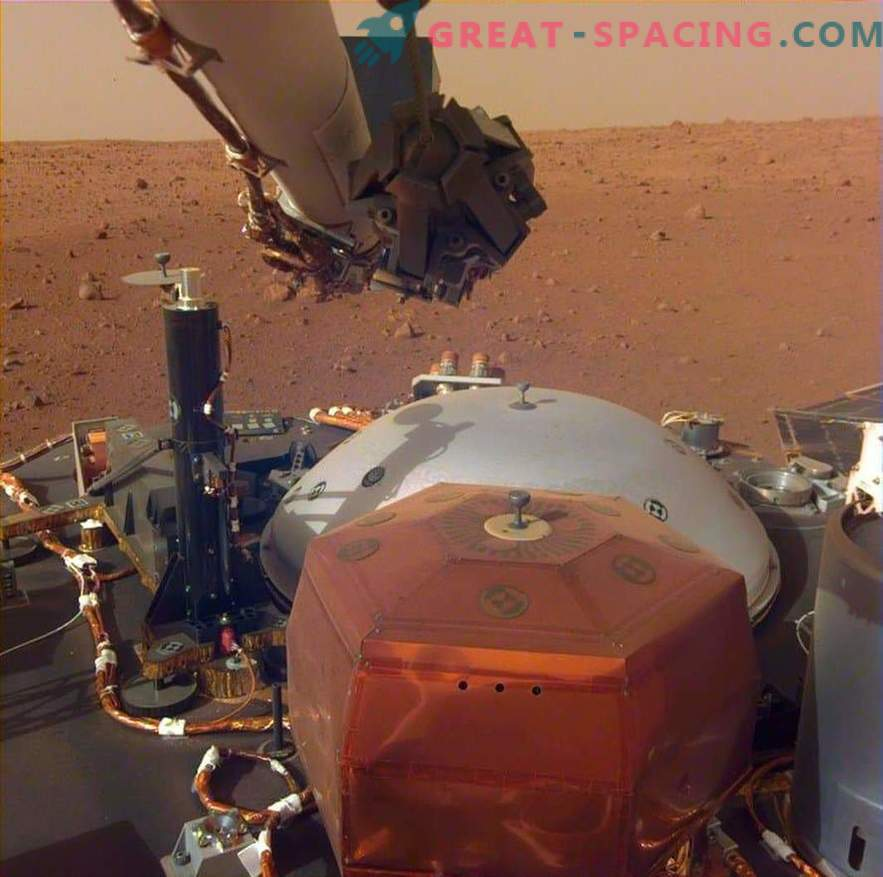The Martian InSight will begin drilling the surface next month.