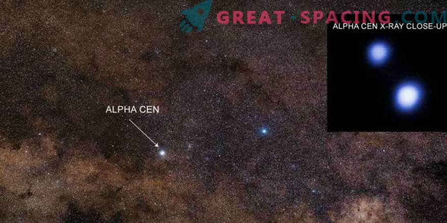 Chandra está buscando perspectivas de vida en el sistema estelar más cercano