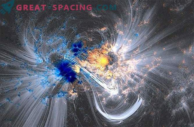 Space Telescope shot 100 million giant photos of the Sun