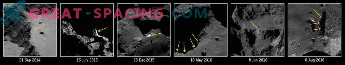 How do comets manage to remain active?