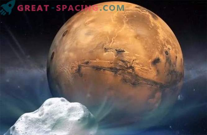 NASA is preparing to bring the Red Planet closer to the comet
