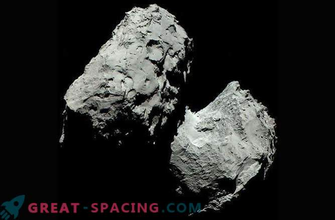 Real color of comet 67P / Churyumov-Gerasimenko