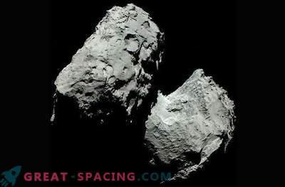 Real color of comet 67P / Churyumov-Gerasimenko