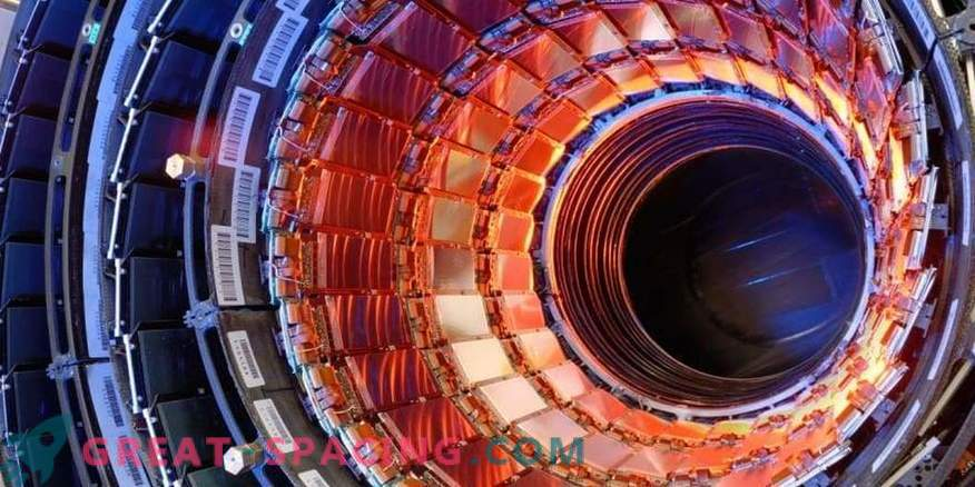 Large Hadron Collider can penetrate another dimension
