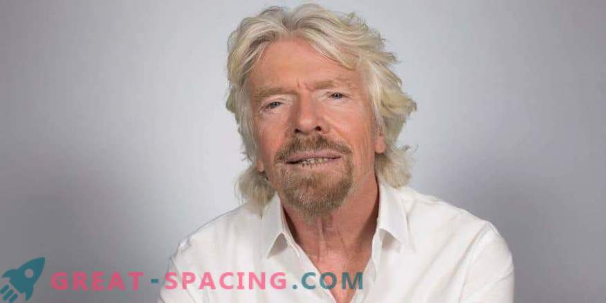 Richard Branson is preparing for a space flight in July.
