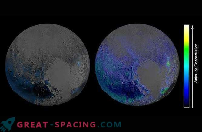 The amount of water ice covering Pluto surprises researchers