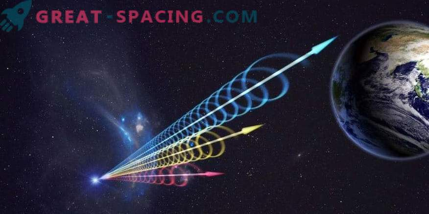 Mysterious energy bursts from space