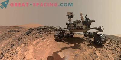 New video from Mars: rover Curiosity leaves the back of Vera Rubin