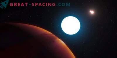 Gravitational microlensing helped find a massive exoplanet