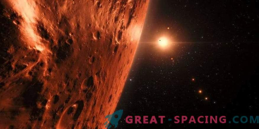 Planets TRAPPIST-1 may contain water