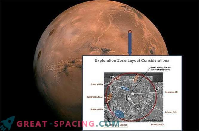 NASA decides where the first astronauts will land on Mars