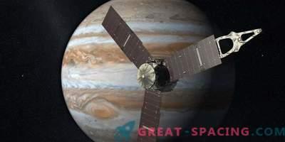 Juno rutscht zum dritten Mal erfolgreich aus den Wolken des Jupiters