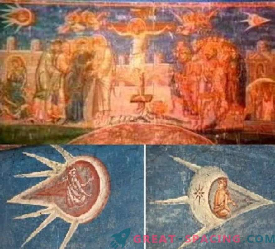Ufologists believe that these 12 ancient paintings show extraterrestrial beings