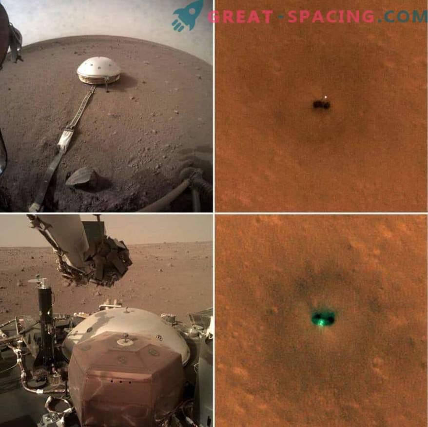 New Photos of the InSight Martian Apparatus