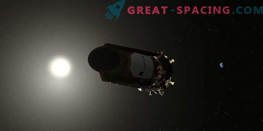 NASA's Kepler telescope spends the last drop of fuel