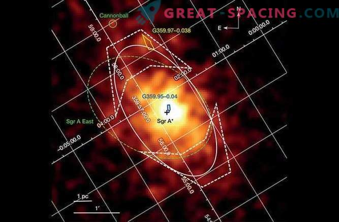 Astronomers have discovered a huge cemetery of stars around a black hole