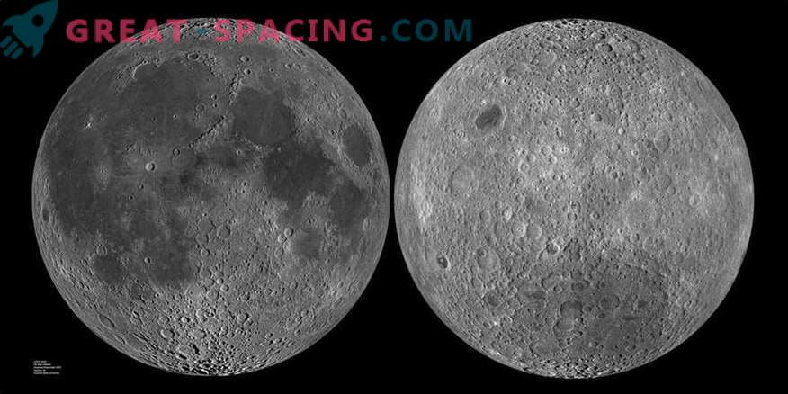 What is hiding on the dark side of the moon