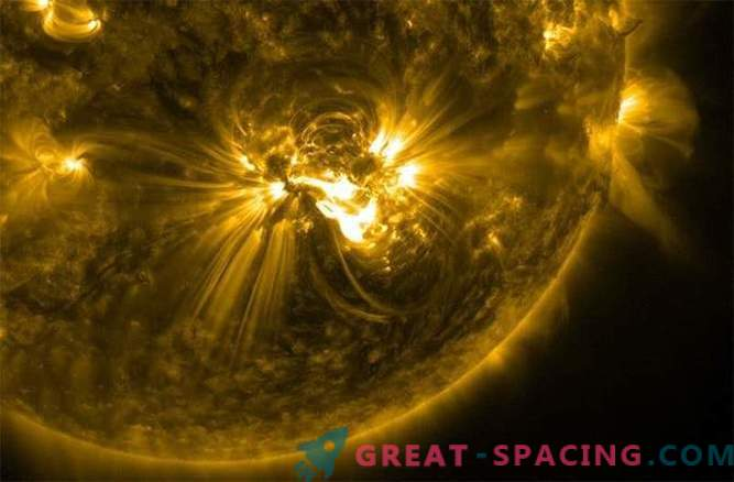 A powerful X-class solar flare is approaching the Earth