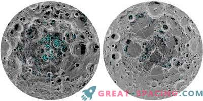 Ice confirmed at moon poles