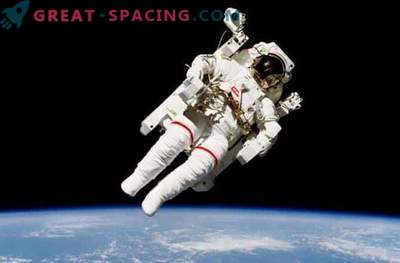 Fascinating spacewalk on the space station: photo