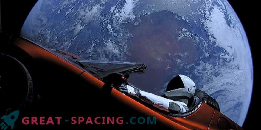 Why did Ilon Musk launch Tesla into space