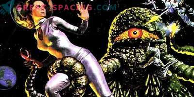 Why extraterrestrial beings in science fiction portray with tentacles
