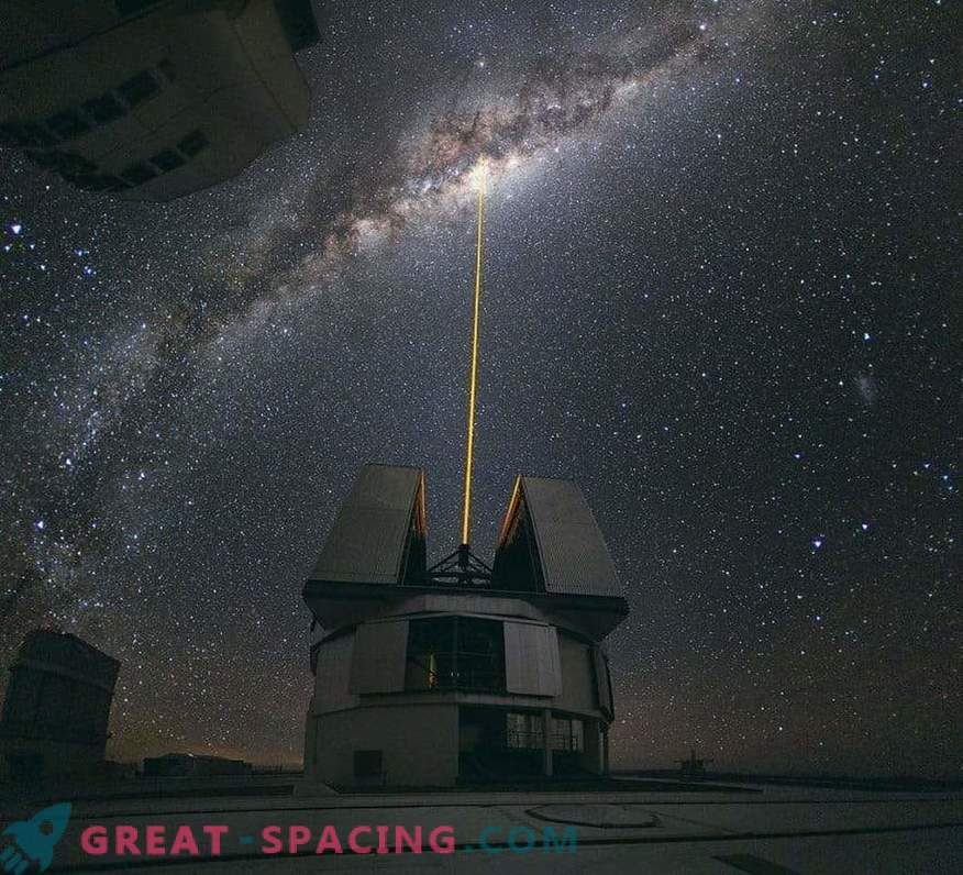 Lasers will help to hide the Earth from extraterrestrial intelligence. New research