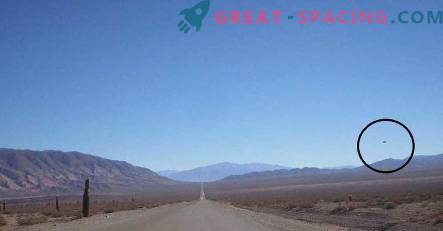 Tourists accidentally captured an unidentified object in Argentina. Opinion ufolog