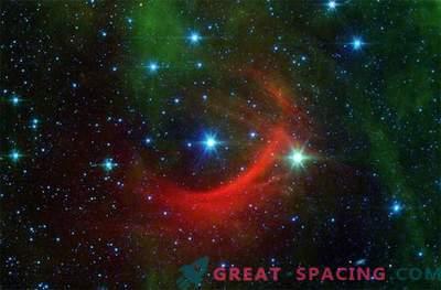 When runaway stars generate a shock wave