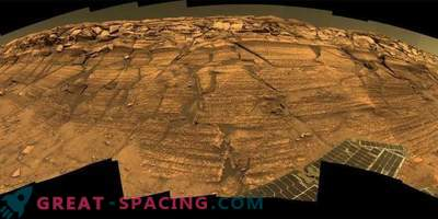 The amazing places of the Meridian Plateau discovered by the Opportunity rover