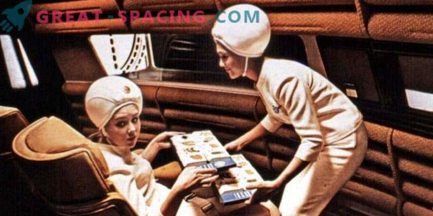 Space tourism cannot do without professional flight attendants