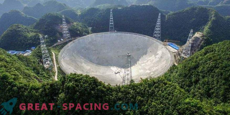 China has created the largest telescope to search for extraterrestrial life
