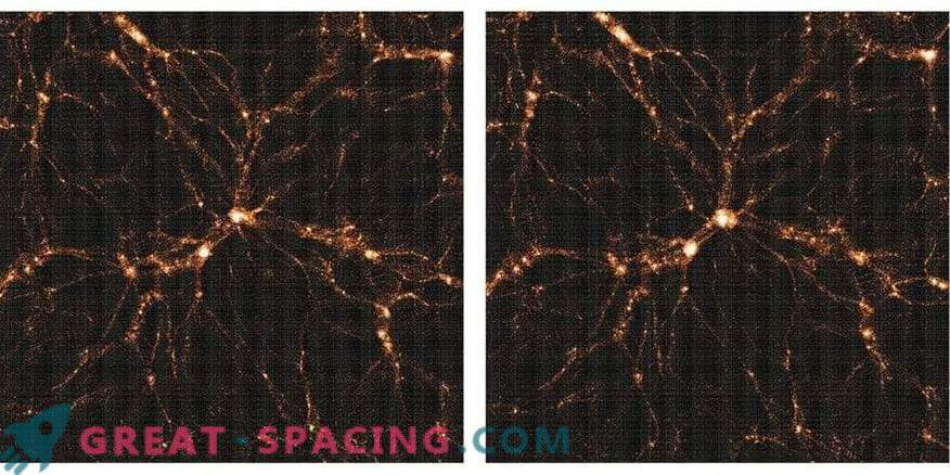 New three-dimensional map of dark matter in the universe