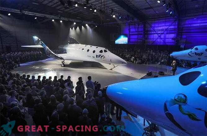 Virgin Galactic Presentation of a New Spacecraft