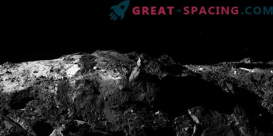 Horizon of comet 67P / Churyumov-Gerasimenko