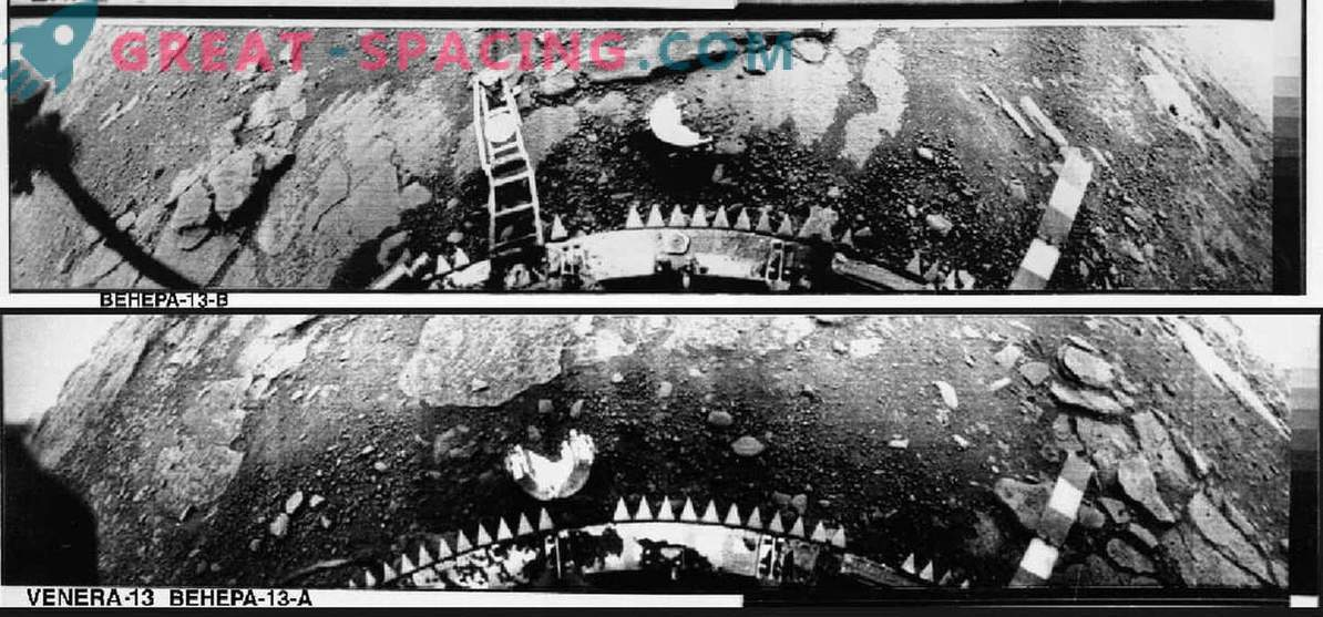 Soviet feat: the first landing of a spacecraft on Venus