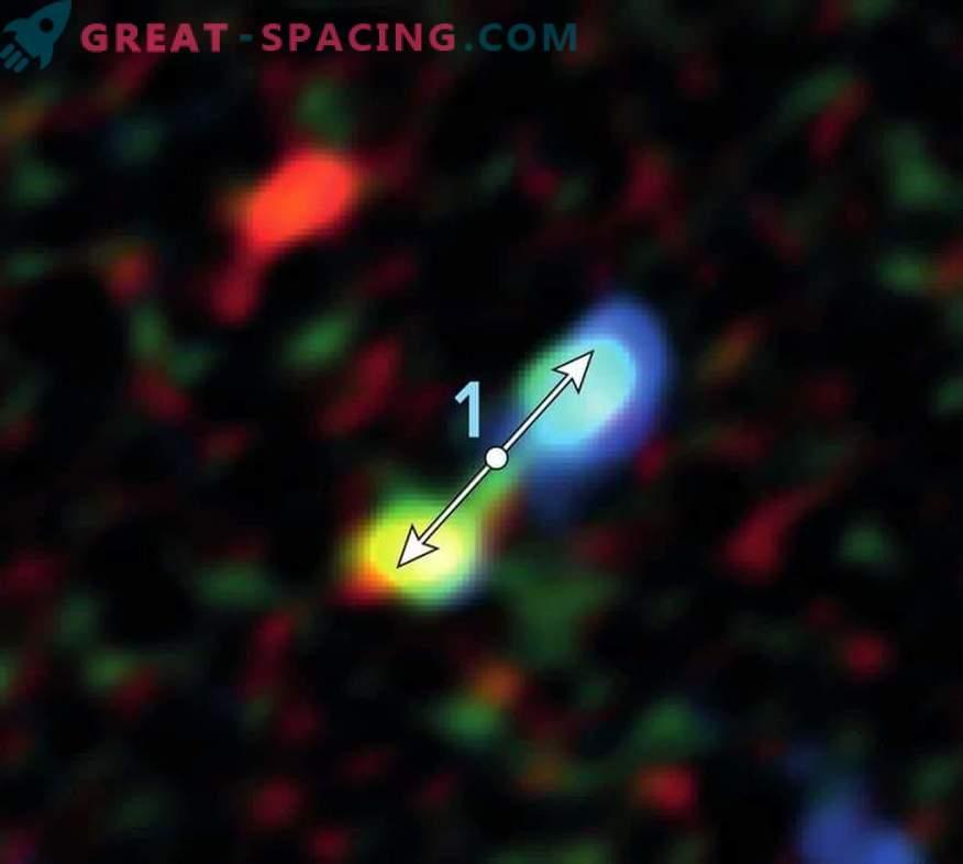 Children's stars were found near a supermassive black hole