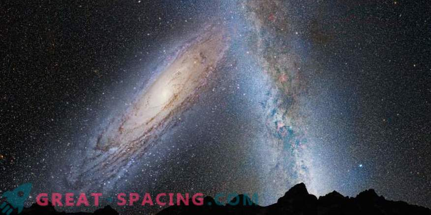 Now scientists know exactly when we encounter the Andromeda Galaxy