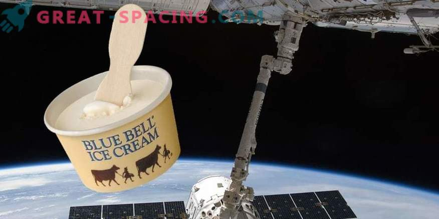 Delivery for the crew of the ISS