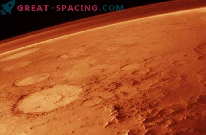 The atmosphere of ancient Mars was not so dense