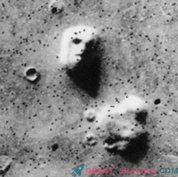 Martian face is still bothering ufologists
