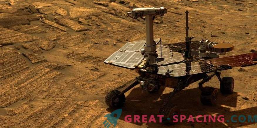 We say goodbye to Opportunity after 15 years of work.