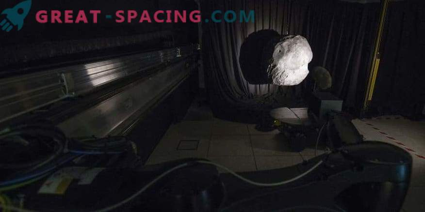 Simulating the darkness of outer space