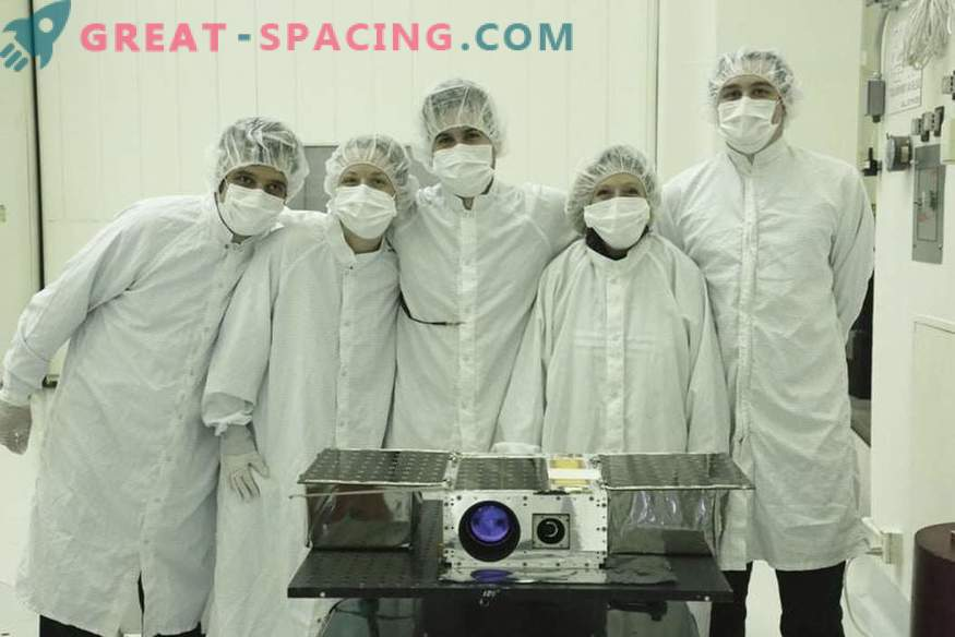 The tiny ASTERIA satellite reaches the first breakthrough