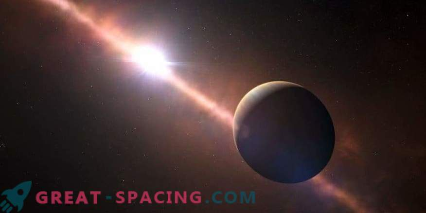 Direct observation of the planet at a distance of 63 light years