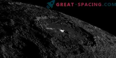 Volcanoes on Ceres spew salt ice