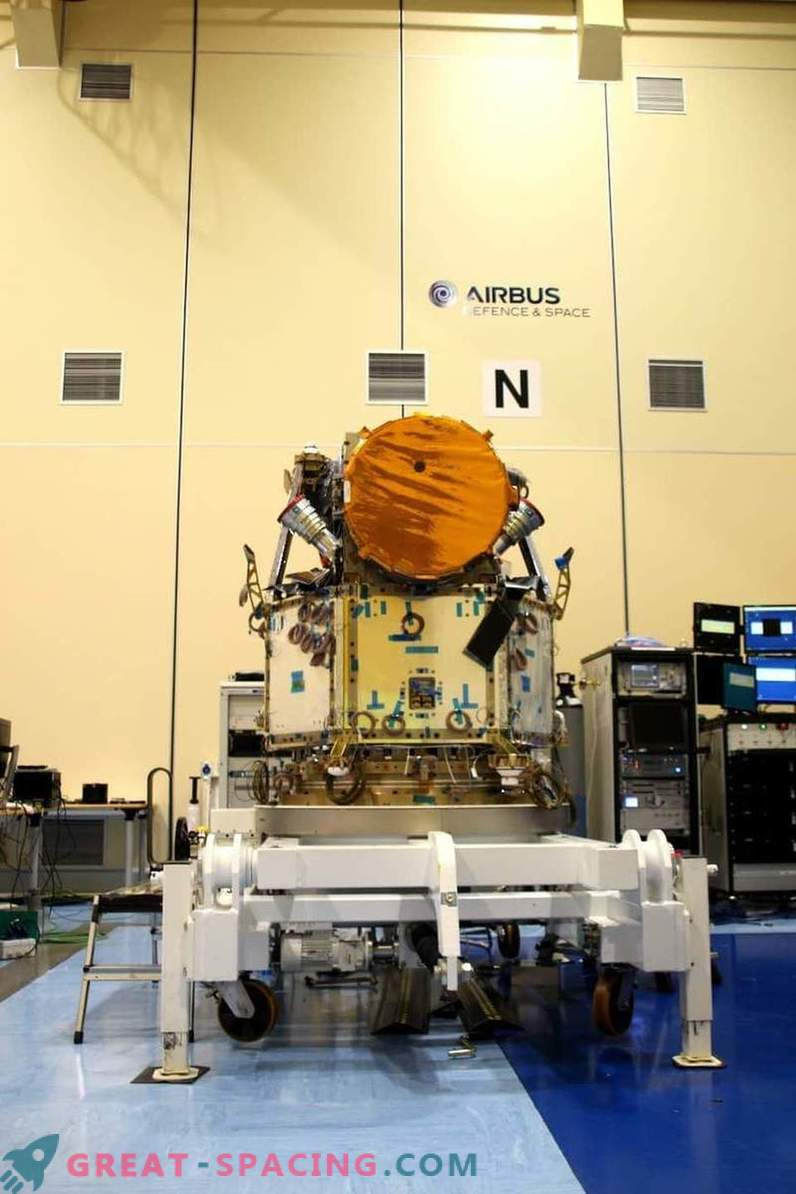 Cheops Integrated Satellite